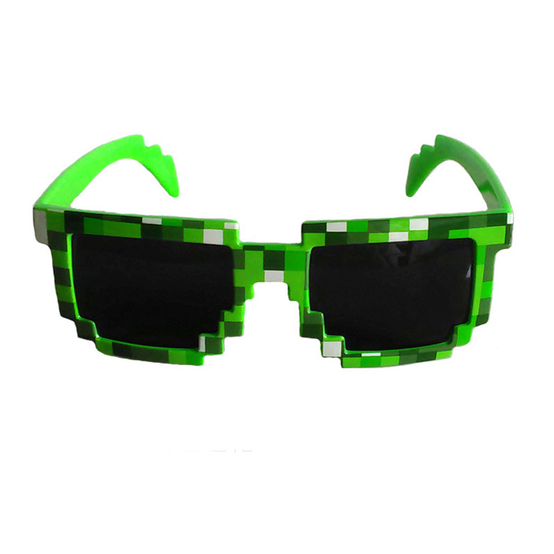 Minecraft Sunglasses  aliexpress com minecraft sunglasses creeper glasses retro