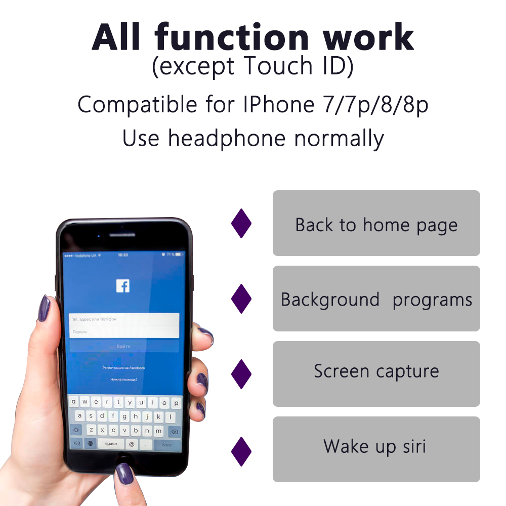 Home Button Universal 10pcs 3