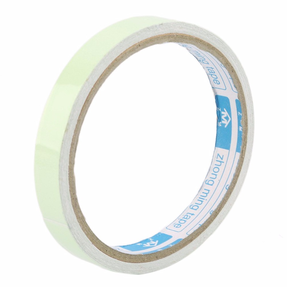 12MM 3M Luminous Tape Self-adhesive Tape Night Vision Glow In Dark Safety Warning Security Stage Home Decoration Tapes