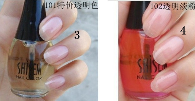 [Free shipping] Wholesale - 6Pcs/Lot 2012 New Fashion 24 Color DIY Nail Polish Glitter Make Up Nail Art Brush