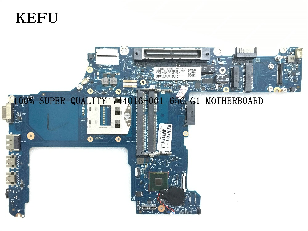 KEFU SUPER !!  AVAILABLE NEW 744016-001  Laptop motherboard SUITABLE for HP 650 G1 COMPARE PLEASEKEFU SUPER !!  AVAILABLE NEW 744016-001  Laptop motherboard SUITABLE for HP 650 G1 COMPARE PLEASE