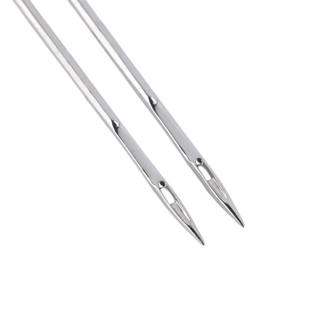 3 pcs כפול תאום מחט גודל 2mm/3mm/4mm מחטי תפירת מכונת כלי ערכת פופולרי חדש