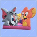 New Design Tom and Jerry  Bouncy Castle, Inflatable Bouncy Castle ,Bouncy Castle Commercial Quality