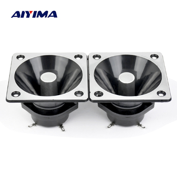Aiyima 2PC Piezo Tweeter 80*80MM Piezoelectric Tweeter Loudspeaker Treble Audio Speaker DIY