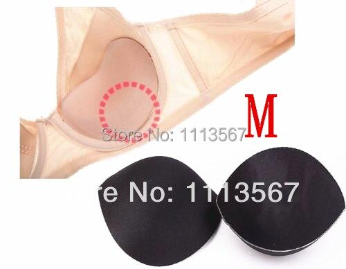 20set černé šití v podprsenky, měkké pěny, velikost podprsenky, podložky pro bikiny podložky vložit oblečení push up podprsenka pěna příslušenství podprsenka WB6