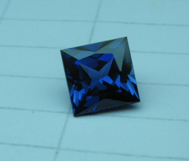 US $228 5 |square shape princess cut 1 5x1 5mm lab created sapphire, lab  created ruby, cubic zirconia and nano for sale-in Loose Diamonds &  Gemstones