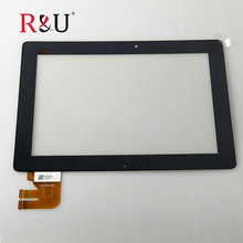 R&U touch Screen panel Digitizer Glass sensor Replacement For Asus Transformer Pad TF300 TF300T TF300TG TF300TL 69.10I21.G03