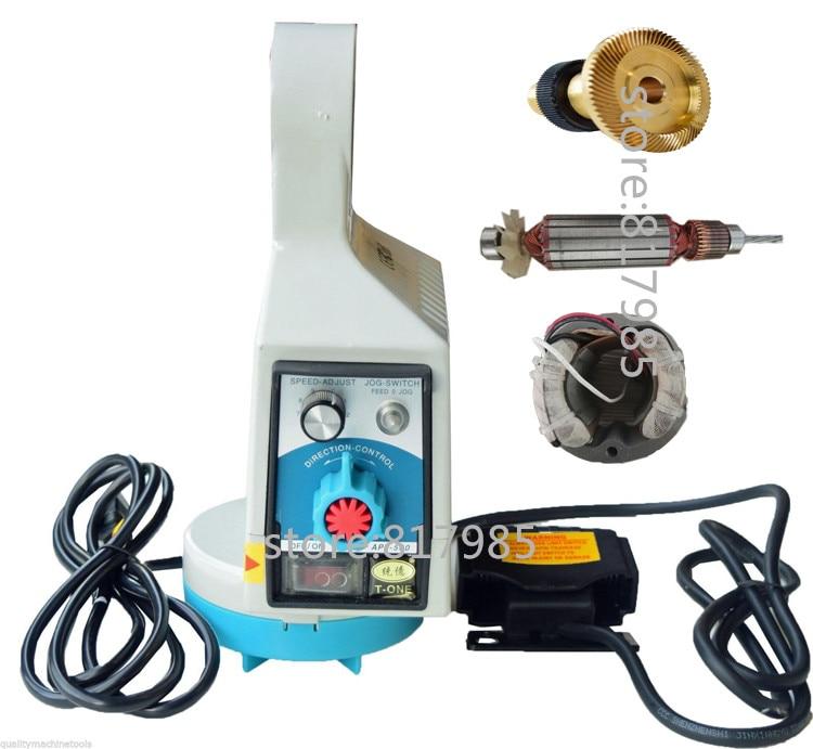 Good quality APF-500110V Power Feed Drill milling Bridgeport Machine Power table Feed Easy control auto feeder цены