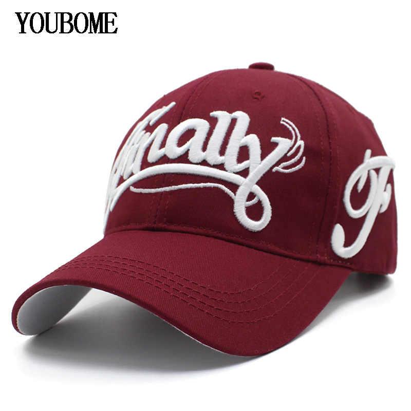 Detalle Comentarios Preguntas sobre Gorra de béisbol YOUBOME gorras para  hombres marca Snapback gorras mujer hombre algodón camionero bordado letra  casqueta ... d72da9ea2e5