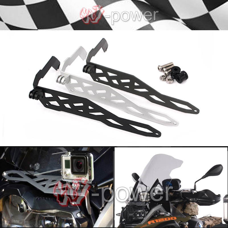 Motorcycle Aluminum Cam Rack Camera Mount fite For BMW R1200GS LC 2013-2016, R1200GS Adventure LC 2014-2016 акрапович для бмв r1200gs 2013