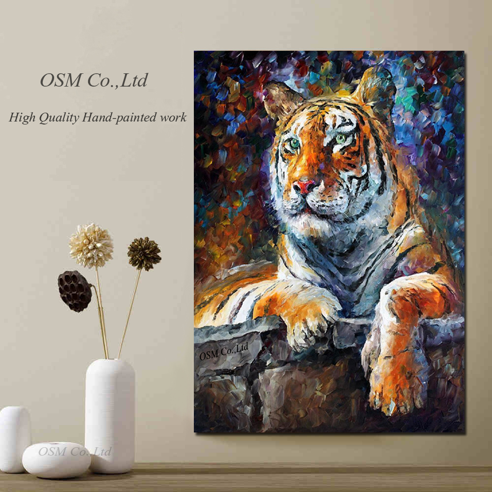 Professional Artist Hand Painted High Quality Abstract: Online Buy Wholesale Artistic Tiger From China Artistic
