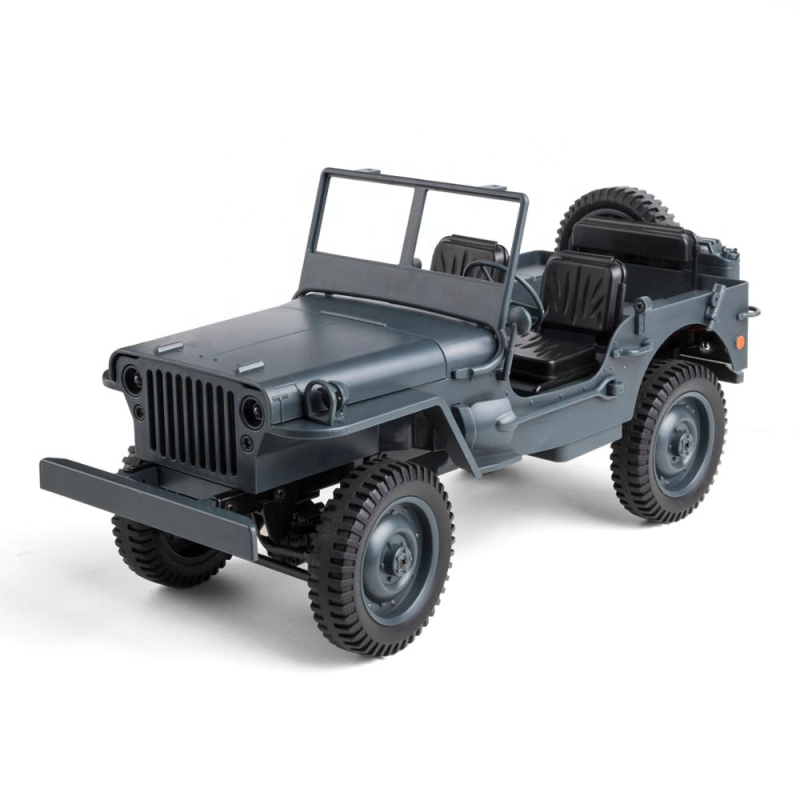 Military Model Electric Toys 1:10 Scale 2.4g 4wd World War Ii U. S. Army Rc Willys Jeep Truck Model Toy For Gift Kids Collection Buy One Give One