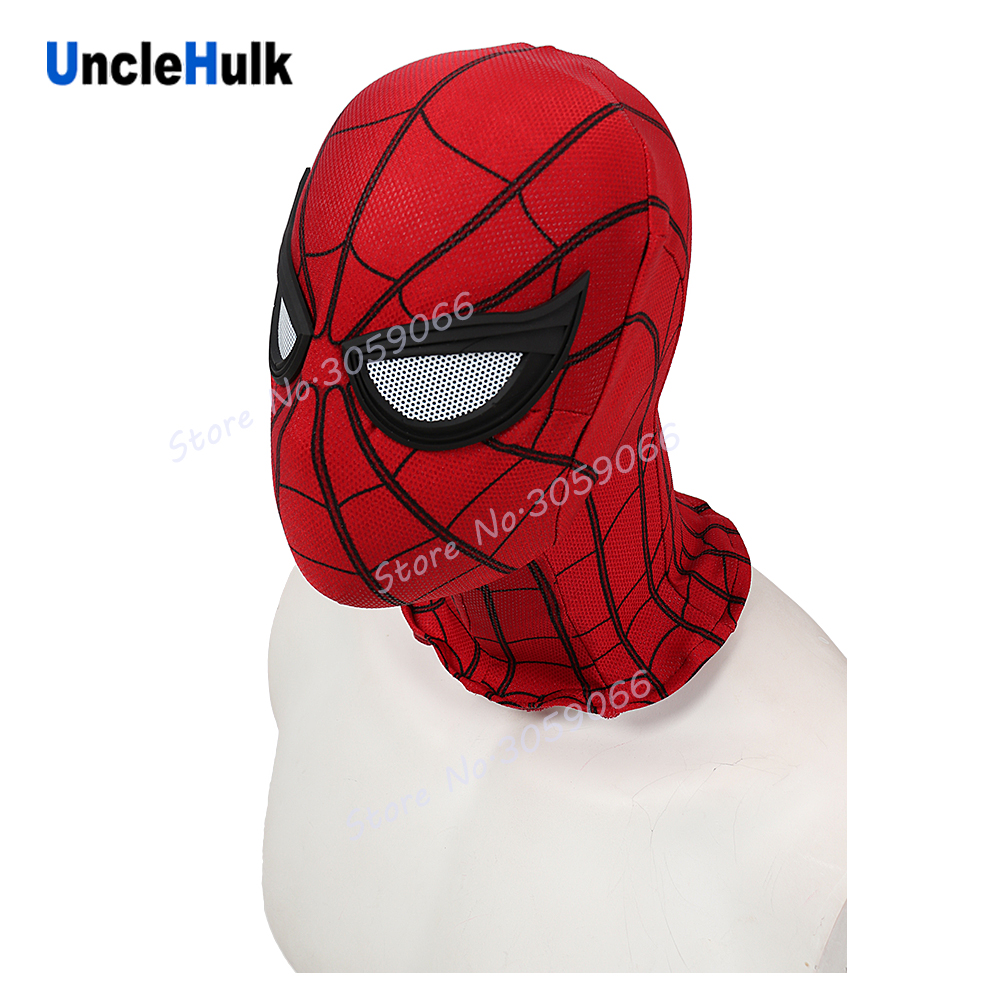 High Quality Spiderman Hood Silicone Silk Screen in Home Coming - ONLY hood can open eyes | UncleHulk