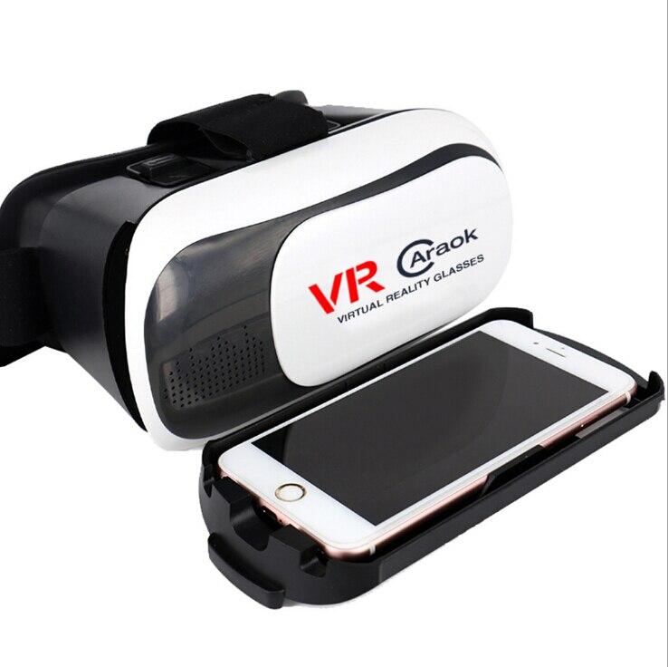 V2-BOX Headset 3D Virtual y Realista 3D VR Vidrio F19632