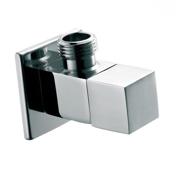 2 PCS praça válvula de corte válvula angular G1   2 rosca macho válvulas de  controle de fluxo de água, Cartucho de bronze 11 - 051 5cdd119167