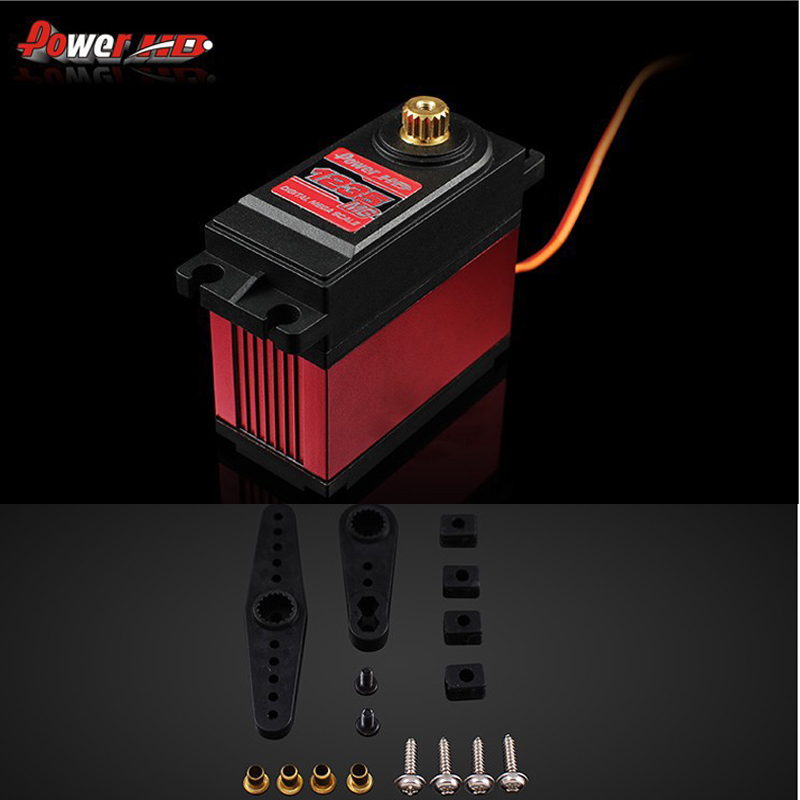 100% original Power HD Digital Servo HD-1235MG high Voltage 40Kg for 1/5 Car can work for FUTABA JR+Free shipping