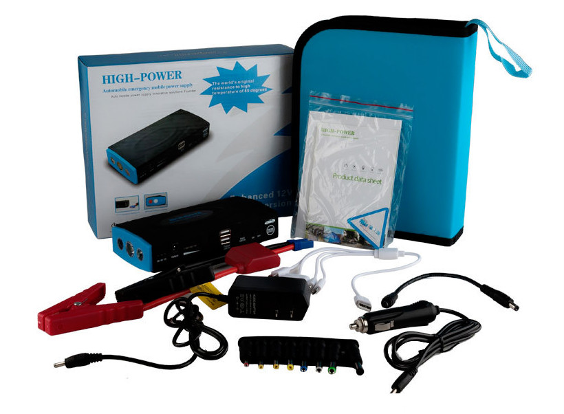 Led Indicator 300A-600A Car Jump Starter 38000mAh 12V battery charger for Laptop Power Bank Multi-funtion