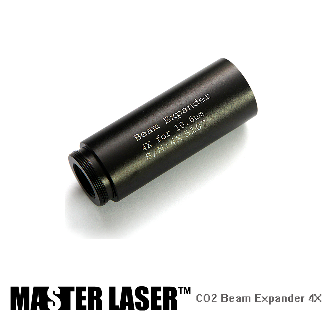 4X CO2 Beam Expander M22*0.75 Screw for Laser Engraving Cutting Machine цены