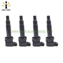 4PCS CHKK-CHKK Car Accessory  Ignition Coil 90919-02262 For Toyota Corolla Celica Matrix MR2 00-05 1.8L 1ZZFE 9091902262 недорго, оригинальная цена