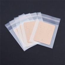 20 шт/лот пакет для упаковки сережек (ОПП + бумага) карточки