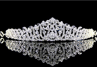 HG107 Korean Plum Alloy Rhinestone Hair Accessories Bridal Wedding Jewelry Crown Bride Wedding Accessories Jewelry