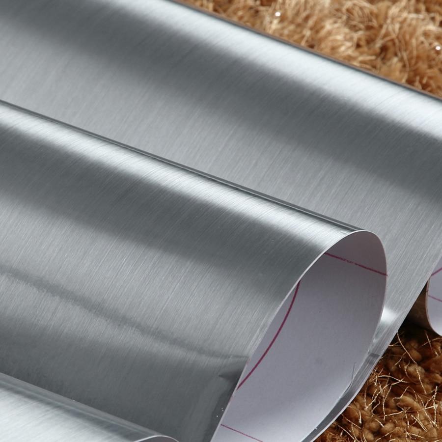 Brušeni metalni efekt srebrne / zlatne naljepnice Renoviranje - Kućni dekor - Foto 5