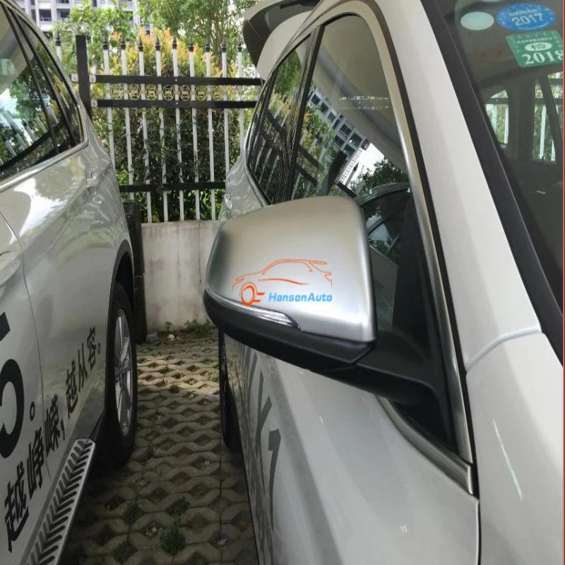 Carbon Fiber Chrome Side Rearview door Mirror Cover Trim Styling For Lexus RX200t RX350 RX450h 2016 2017 Accessories Car Sticker