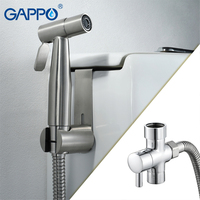 GAPPO Bidets Bathroom Toilet Water Spray Bidet Brass Toilet Bidet Hygienic Shower Portable Wall Mounted Bidet Shower Enema