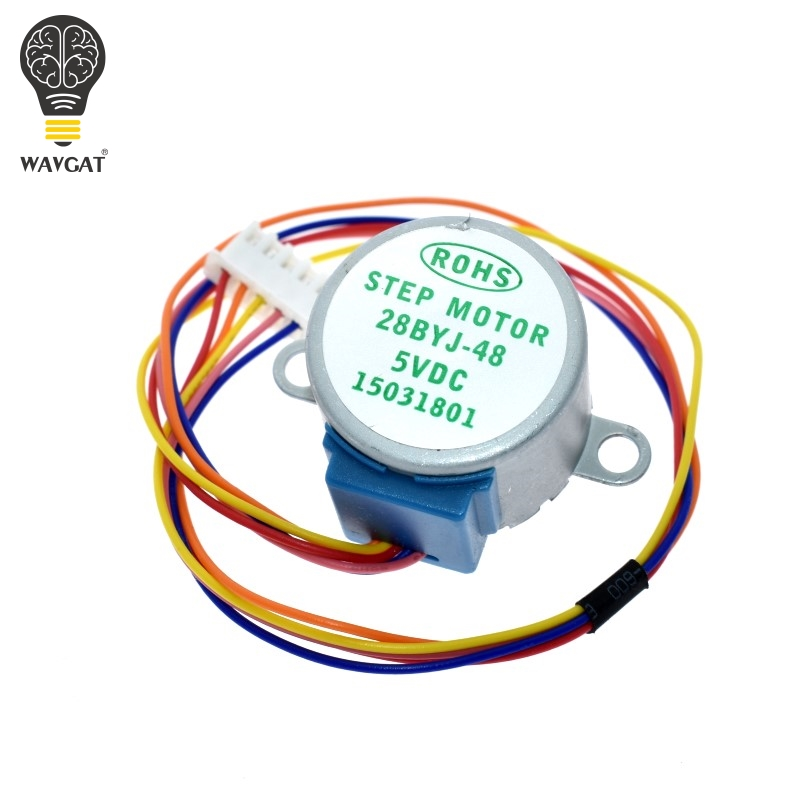 ULN2003 5V 4-phase 5-wire stepper motor gear motor 28BYJ-48-5V,Micro Mini Electric Step Motor for PIC 51 AVR