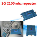 Free Shipping 3G Signal Booster W-CDMA 2100MHz Mobile Phone Signal Booster Repeater 3G Amplifier With parts 1SETS