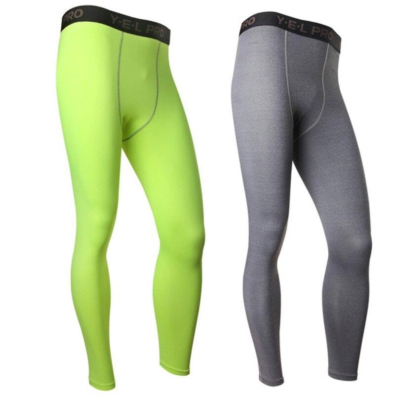 Hot Sale Mens Base Layer Leggings Activewear Bottoms Activewear