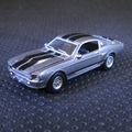 GreenLight 1:64 1967 Ford Mustang Eleanor boutique alloy car toys for children kids toys Model bulk freeshipping