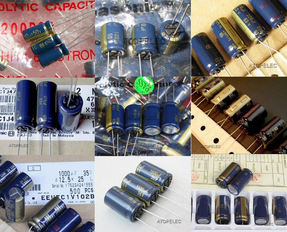 Panasonic 100UF 25V FC AUDIO Grade Electrolytic Capacitors 10pcs// 20pcs//50pcs