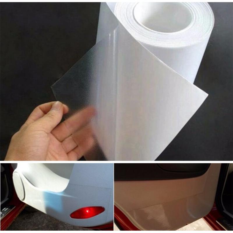 Rhino Skin Sticker 10cm X 3M Car Bumper Hood Paint Protection Film PVC Vinyl Clear Transparence Film Decal Protector