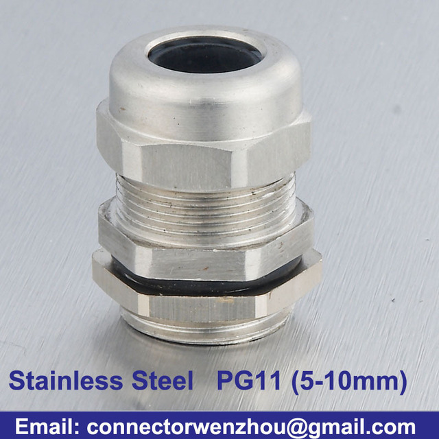 Cable Distributors Stainless Steel Cable Glands Wire Rope Connector ...