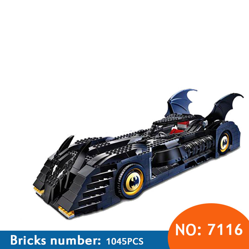 DECOOL 7116 The Tumbler BatMobile Compatible with 7784 Super Heroes Batman Building Blocks Educational Toys For Children 7784 super heroes batman the scuttler building blocks new year gift diy figures toys for children compatible lepins 3d model