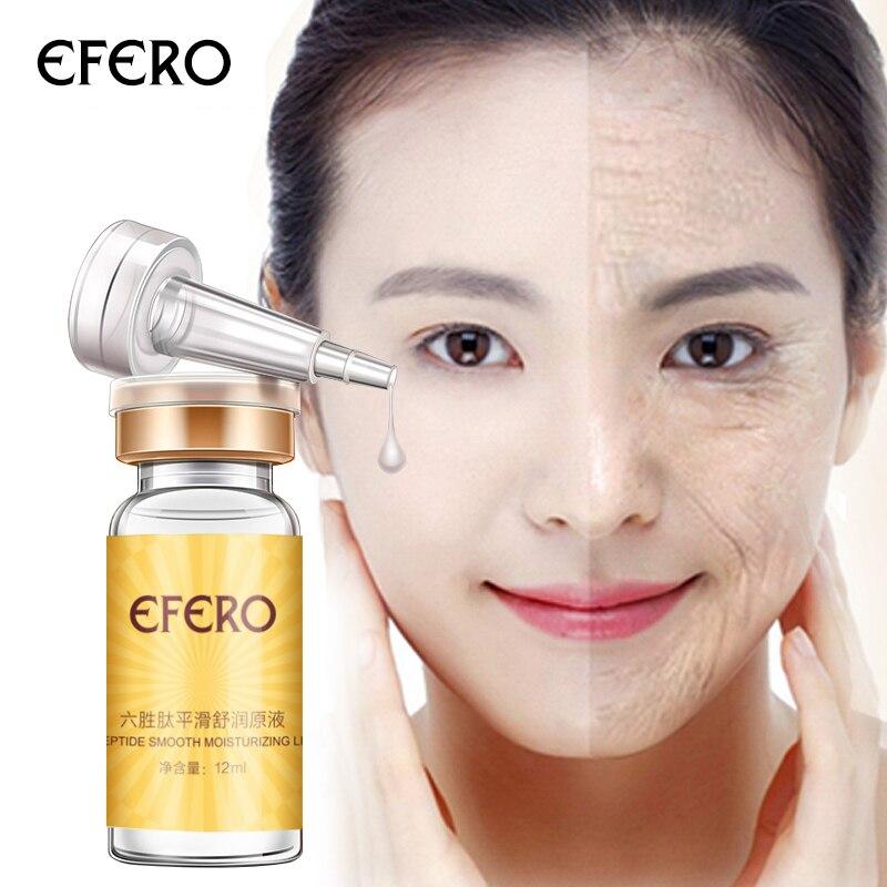 efero Six Peptides Liquid Anti Aging Anti Wrinkle Cream for Face Hyaluronic Acid Serum Face Cream Whitening Firming Skin Care