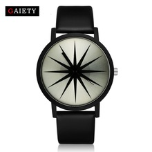 Tops Women Watches 2017 Luxury Brand Fashion Casual Black Leather Analog Dress Sport Bracelet Quartz Wristwatches Clock Gifts