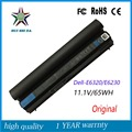 6cells 11.1V 65Wh Original  New High Quality  Laptop Battery for Dell E6230  E6220 E6320 E6330 Kj321