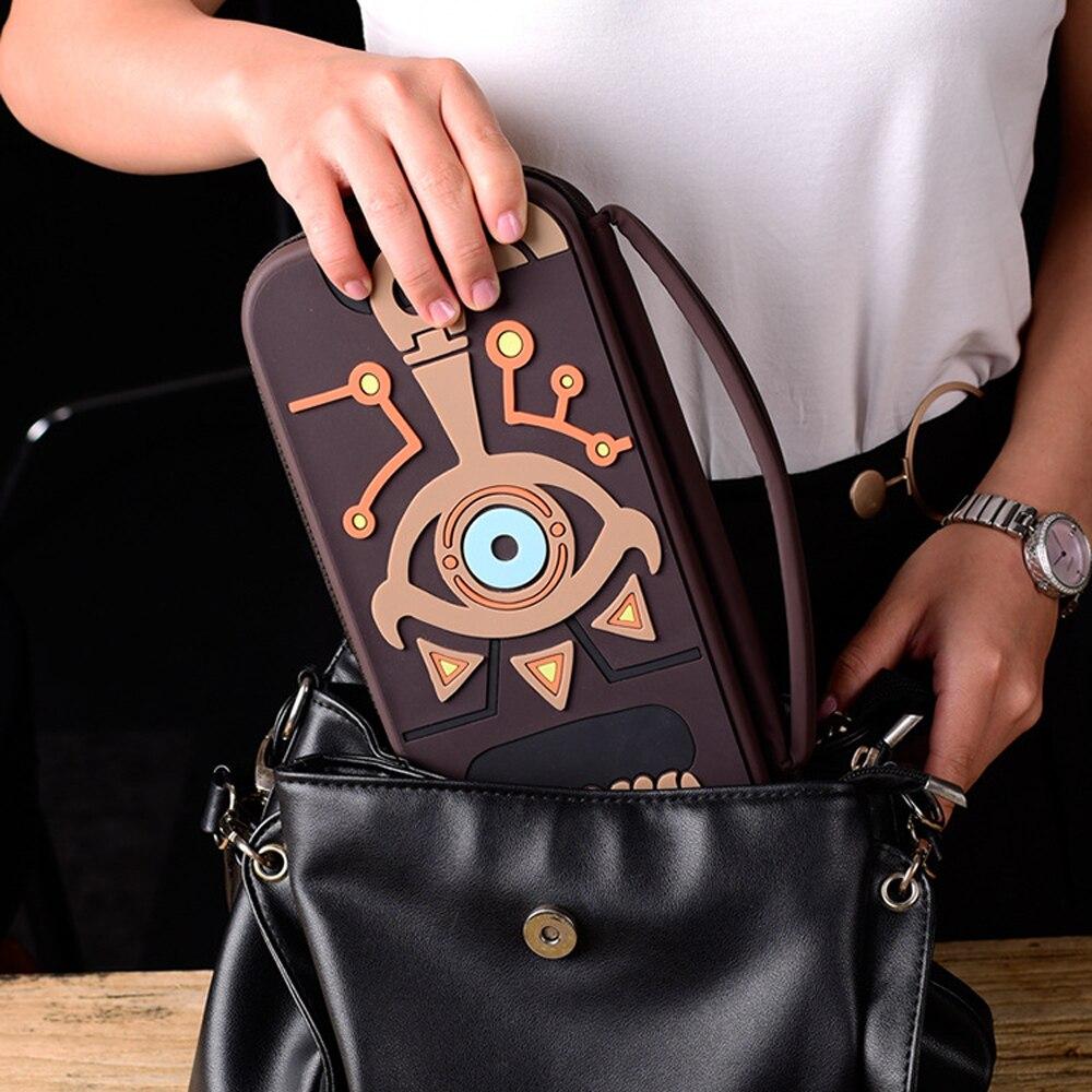 Schalter Fall Zelda Link Sheikah Schiefer Reise Lagerung Tasche Tasche Protector Abdeckung Für Schalter Konsole NS Legende Spielzeug Hobbies