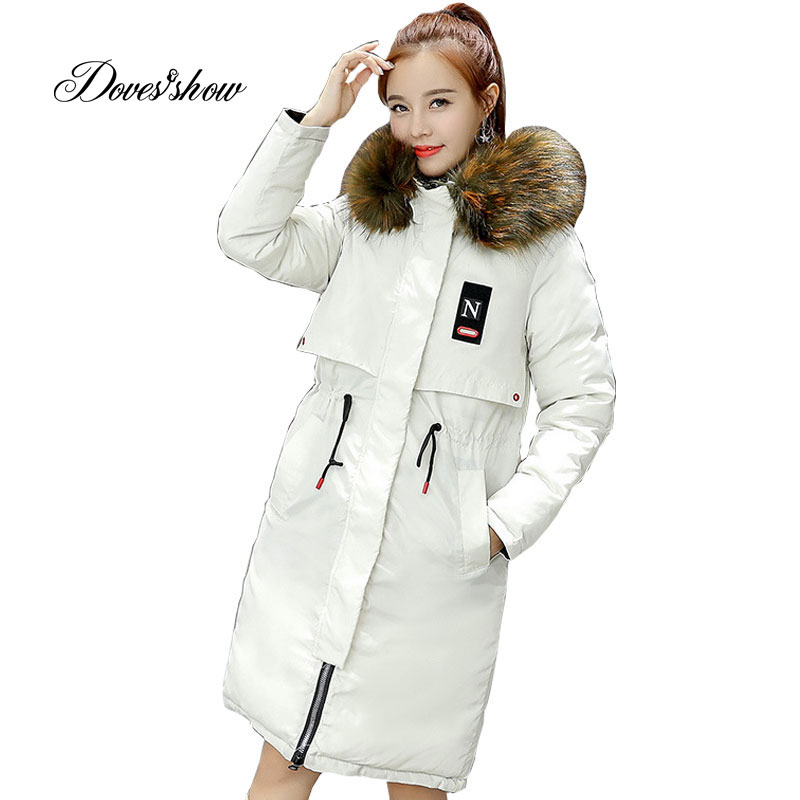 Hooded Reversible Winter   Down     Coat   Jacket Long Warm Women Cotton-padded Casaco Feminino Abrigos Mujer Invierno Wadded Parkas 06