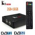 KII PRO S2 T2 2 GB/16 GB Amlogic S905 Quad-core Android 5.1 TV BOX Bluetooth 4.0 Dual WI-FI CAIXA K2 DVB-T2 DVB-S2 PRO Inteligente UHD 4 K