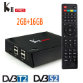 KII PRO T2 S2 2 GB/16 GB Amlogic S905 Quad-core Android 5.1 TV BOX Bluetooth 4.0 Dual WIFI UHD 4 K DVB-T2 DVB-S2 K2 PRO Smart BOX