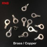 RNB8-4 RNB8-5 RNB8-6 러그 비 절연 원형 원형 네이 키드 O 링 케이블 와이어 냉간 압착 커넥터 압착 단자