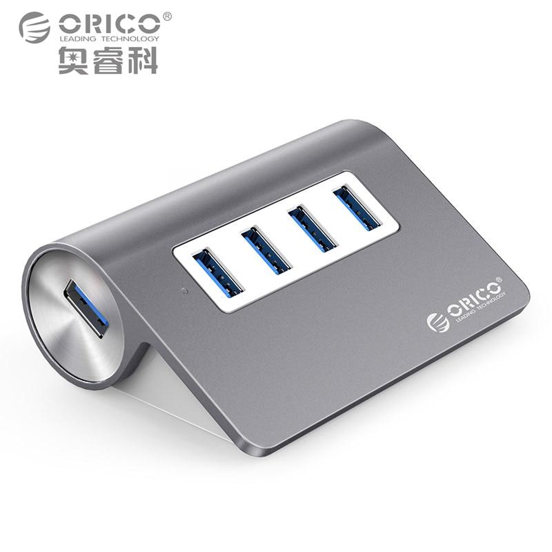 ORICO Aluminum Mini USB 3.0 Hub 4 Ports 5Gbps High Speed ...