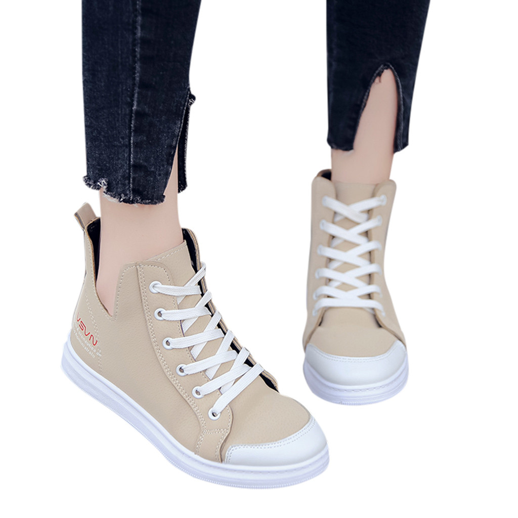 New Casual Outdoor Toe Flat High Quality Women Ladies Fashion Lace Up Round Toe Flat Casual Loafer Sneaker Canvas Shoes 2019New Casual Outdoor Toe Flat High Quality Women Ladies Fashion Lace Up Round Toe Flat Casual Loafer Sneaker Canvas Shoes 2019