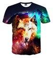 kids 3D t shirt children's short sleeve t-shirt for boys wolf printed t-shirts Cuhk child