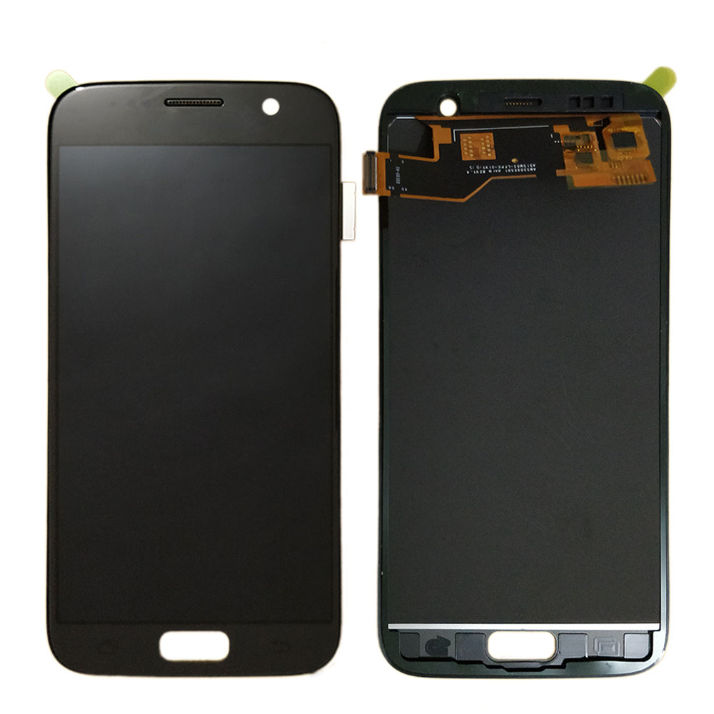 For Samsung Galaxy S7 G930 G930F LCD Display Touch Screen Digitizer Assembly 100% Test TFT LCD adjustable brightness replacement