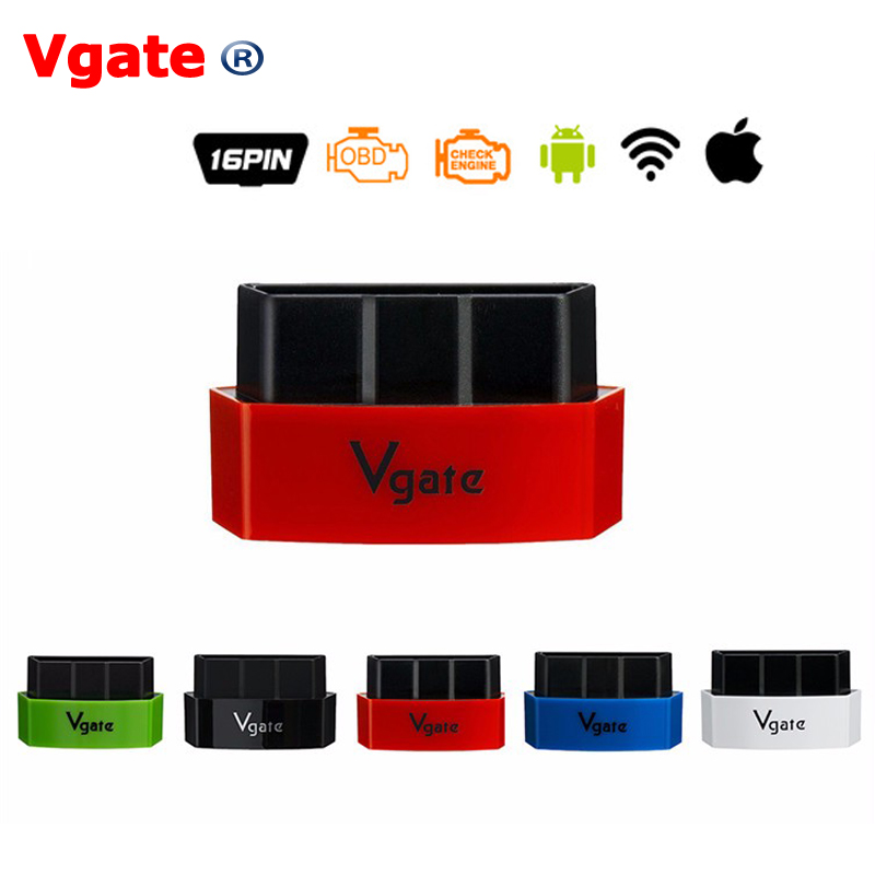 Vgate iCar3 Wifi OBDII OBD2 ELM327 iCar 3 Elm327 Bluetooth Diagnostic Interface For Android IOS PC