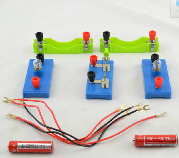 US $7 99 |Primary school science experiment  Small lamp wire  Small bulbs   Series circuit  Parallel circuit-in Generator Parts & Accessories from Home